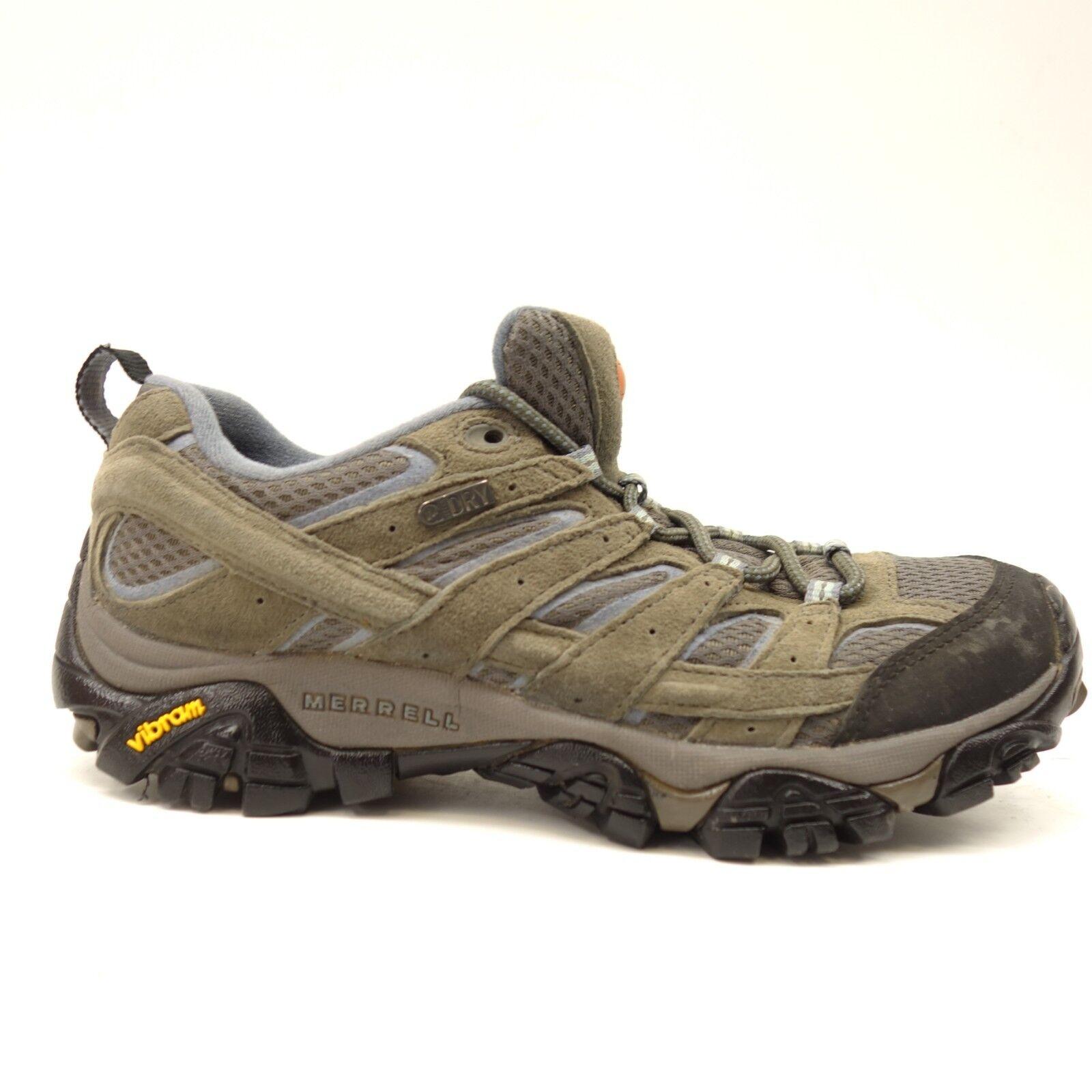 Merrel Damen Moab Niedrig Grau Blau Athletic Unterstützung Wandern Trail Us 7    | Verkauf Online-Shop