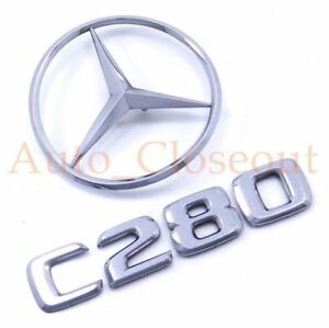 For 2006-2007 Mercedes C280 Emblem Genuine 68231CX Trunk Star