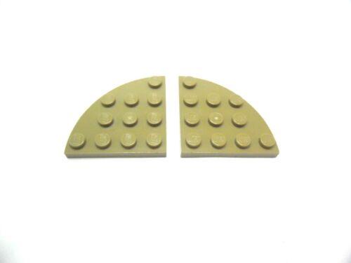LEGO 2x Platte Viertelkreis 4x4 Noppen Farbauswahl g 30565