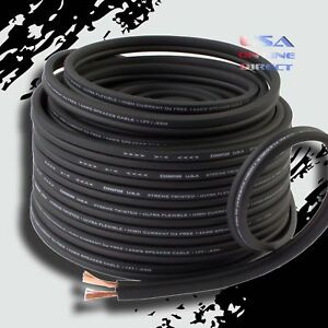14-Gauge-50-Feet-OFC-100-Copper-Marine-Car-Home-Audio-Speaker-ZIP-Cable-Wire-US