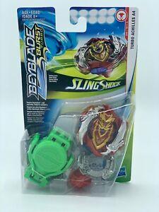 NEW-Hasbro-BEYBLADE-Burst-Turbo-034-SLING-SHOCK-034-TURBO-ACHILLES-A4-Starter-NEW