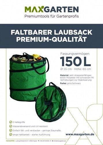 maxGarten Laubsack Abfallsack  3 Größen