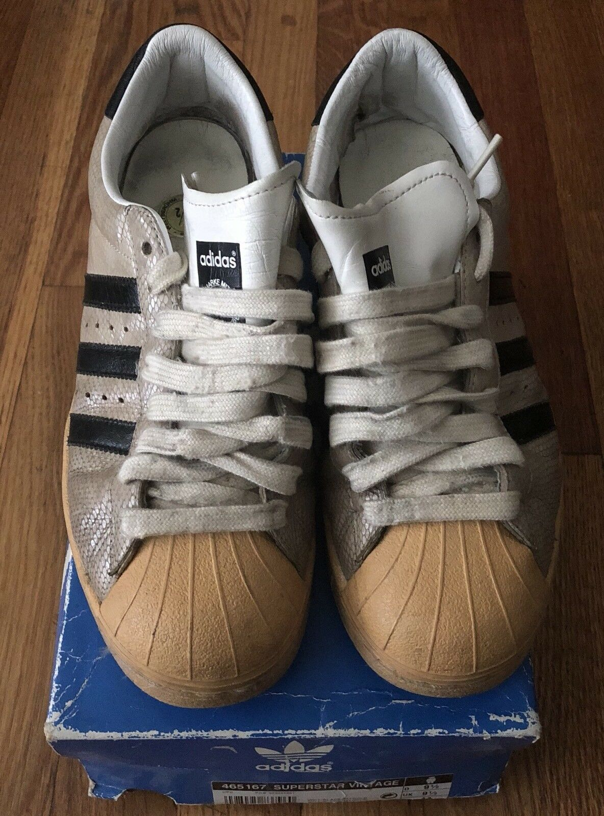 Adidas SuperStar Mens Vintage Snakeskin US Sz 10 UK Sz 9.5