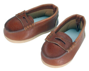 """FAST SHIP COOLEST Penny Loafers for 18/""""  American Girl Boy Logan Doll Clothes"""