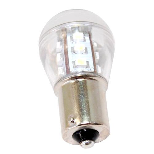 2x HQRP BA15s Base 15 LEDs SMD3528 Bulb for 1141 1156 Jayco RV Interior Porch