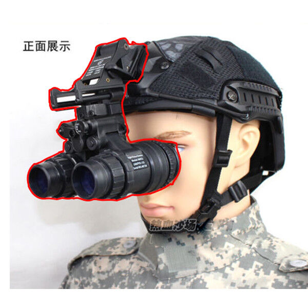 Airsoft Painball PVS15 NVG Model + Aluminum Alloy Helmet AN PVS-15 NVG Mount