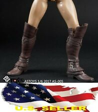 1/6 Assassin's Creed leather Boots Roman Soldier Armor for hot toys Phicen ❶USA❶
