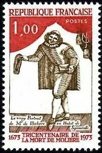 FRANCE-STAMP-TIMBRE-N-1771-034-MOLIERE-034-NEUF-xx-LUXE