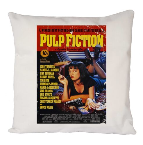 PULP FICTION MOVIE POSTER CUSHION COVER PILLOW CASE RETRO FASHION IDEAL GIFT