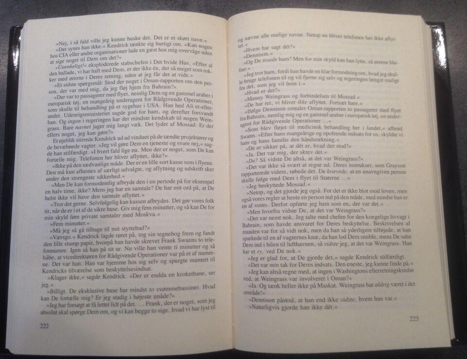 KODEORD ICARUS, ROBERT LUDLUM, genre: drama