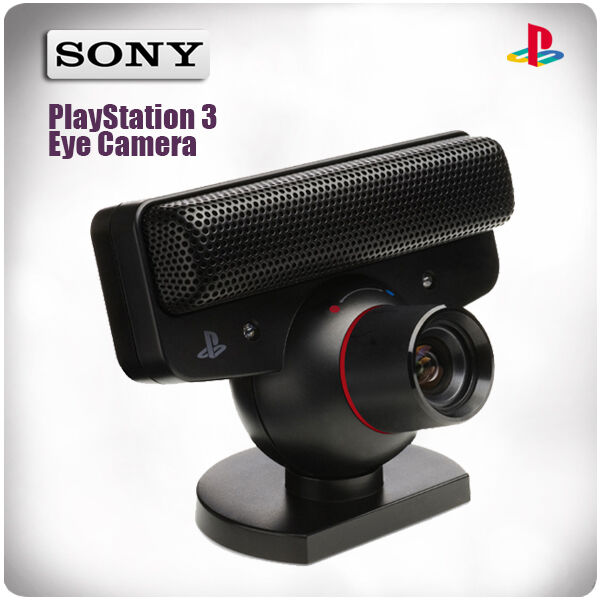 PlayStation 3: PS3 Eye Camera Sony (Curved Lens)