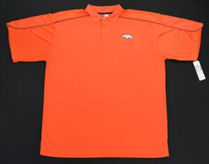 DENVER BRONCOS Men s Orange NFL Team Apparel TX3 Cool Dry Polo Shirt ... ff4fcb1fa