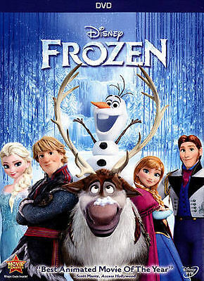 DISNEY'S Frozen (DVD, 2014) BRAND NEW FACTORY SEALED