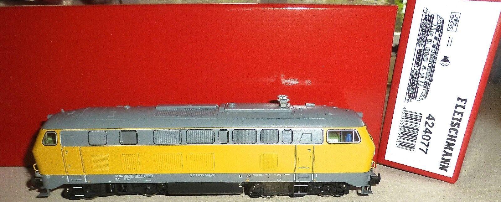 225 010-8 diesellok db bahnbaugruppe sound Fleischmann 424077 H0 1 87 KG2 µ