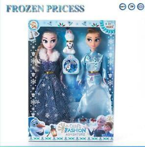 Die Eiskönigin Prinzessin Elsa Anna Barbie Action Figure Xmas Puppen Geschenke