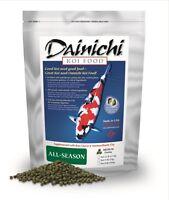 Dainichi All-season Koi Food - Available In Small, Medium And Large Pellets
