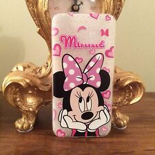 Samsung Galaxy S7 EDGE Disney Mickey Minnie Mouse TELEPHONO CASE Gel Morbido Carino Regalo