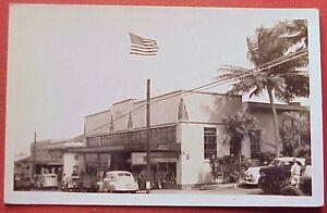 1940's Kress 5 &10 Main Street Wailuku Maui Flag TH Hawaii RPPC