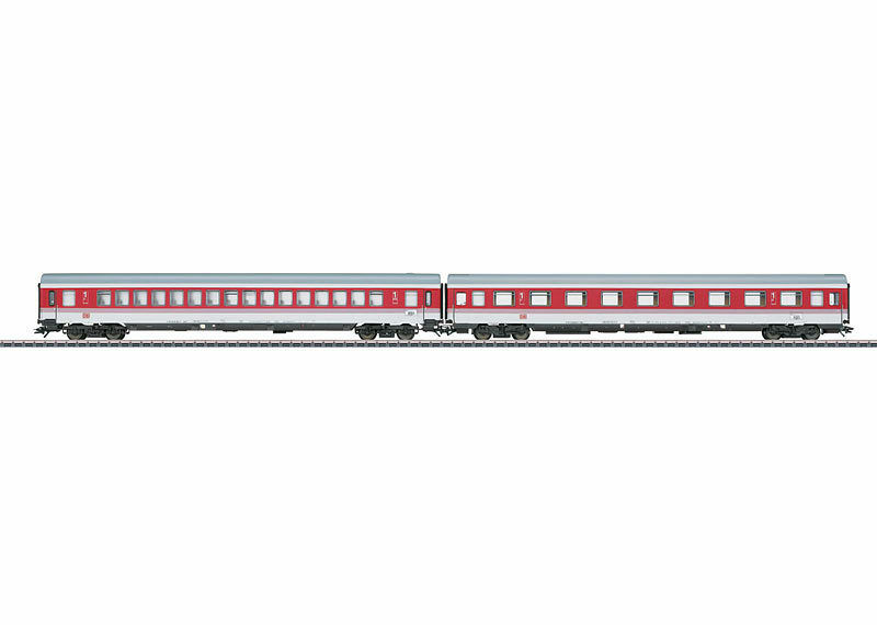 Märklin 43309 Vagone treno INSIEME EC TIZIANO DB 2 pezzi   NUOVO SCATOLA