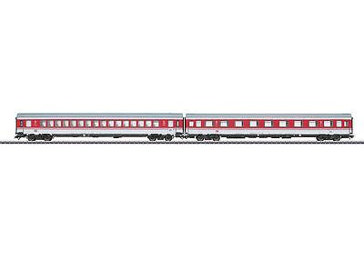 Märklin 43309 train rapide voiture-set EC tiziano de la DB 2 pièces #neu en OVP #