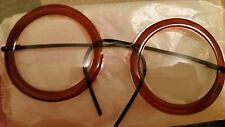 TOY NOVELTY CELLULOID GLASSES Harold Lloyd 1930s OLD STOCK