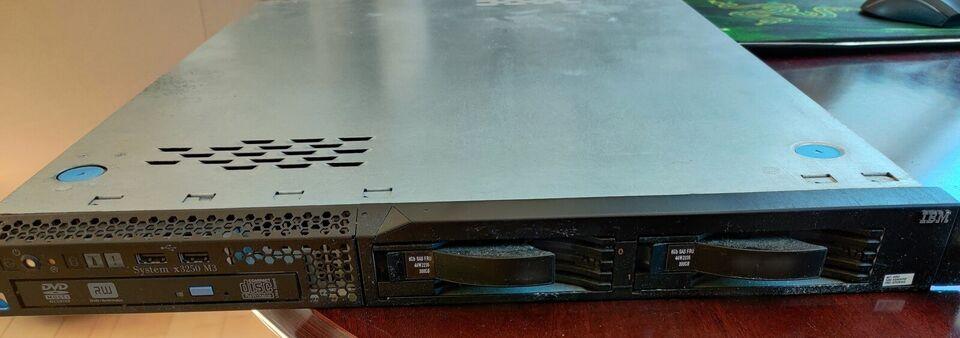 Server, IBM x3250 M3, God