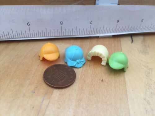 Playmobil Spare Parts 6597 One Bonnet /& 3 Sun Hats for Baby Figures