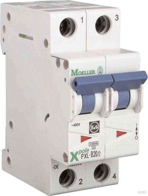 Eaton   Möller LS-Schalter mit Beschrift. B 16A, 16A, 16A, 2p PXL-B16 2 | Realistisch  4c92be