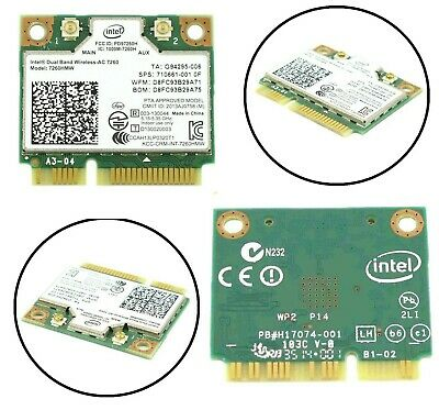 DualBand Wireless-AC 867M Mini PCI-E BT4.0 Card Intel For HP SPS 710661-001