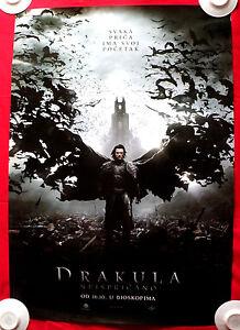 Dracula Untold 2014 1sh Luke Evans Dominic Cooper Unique Serbian Movie Poster Ebay