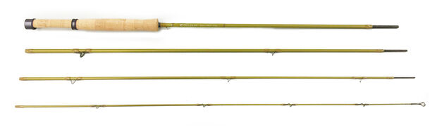 NEW DOUGLAS UPSTREAM ULTRA-LITE 4884 8' 8  WEIGHT 4  PC FLY ROD+ FREE  50 LINE  factory direct sales