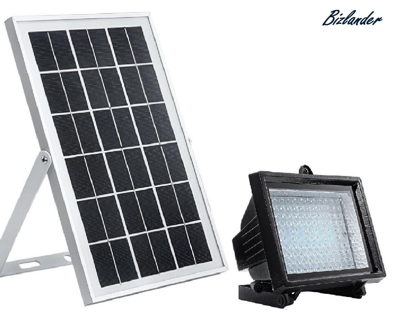 Bizlander 108 LED Energía Solar comercial Atardecer Para Amanecer al aire libre luz de inundación