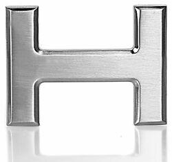 Gürtelschnalle Schnalle Chrom H 40mm für Wechselgürtel Wendegürtel Schließe