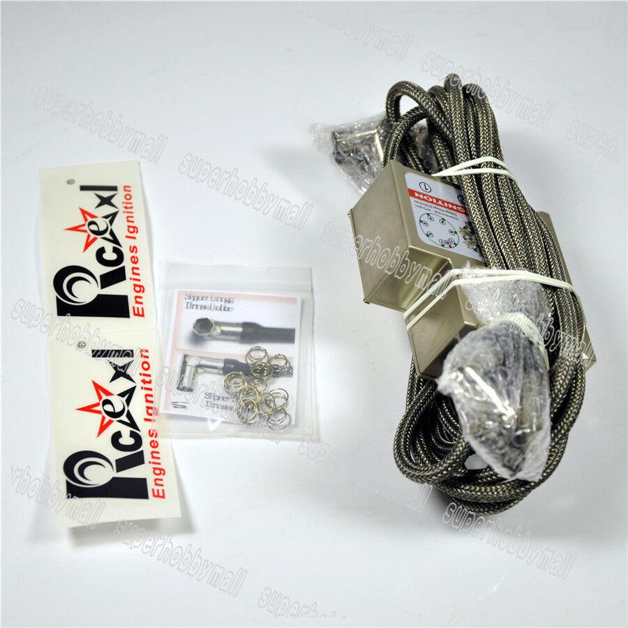 7 cylinder RADIAL ENGINE ignition for NGK- ME-8 1 4 -32 90 degree W Hall Sensor