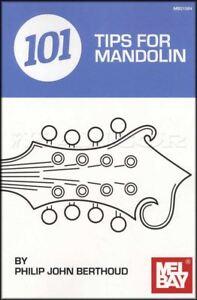 101 Conseils Pour Mandoline Handy Case Taille Book Tab Chords Théorie Philip Berthoud-afficher Le Titre D'origine