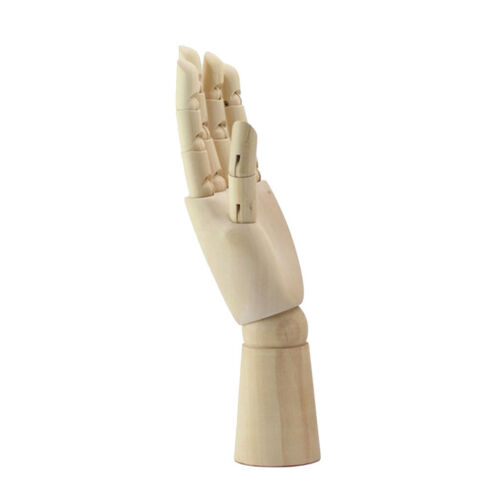 Articulated 18cm Wooden Mannequin Manikin Hand Painting Aid Educational Toy