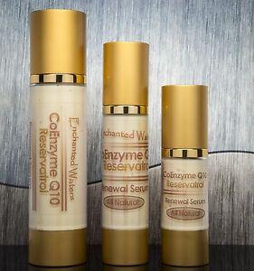 Coq10 Serum Resveratrol Alpha Lipoic Acid Argan Oil Vitamin C and E Anti Aging