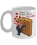 Trump Valentine mug Trump  Coffee Mug I want you on my side of the wall mug