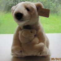 Aurora Stuffed Animal 14 Polar Bear With Cub Item 10882