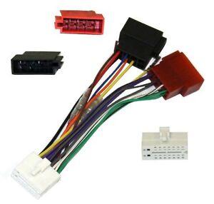 Adaptador cable enchufe ISO para autoradio Clarion