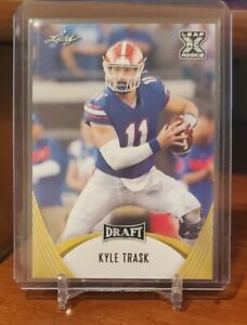 2021 Leaf Draft - KYLE TRASK - Bucs Rookie - Gators RC - Gold #05