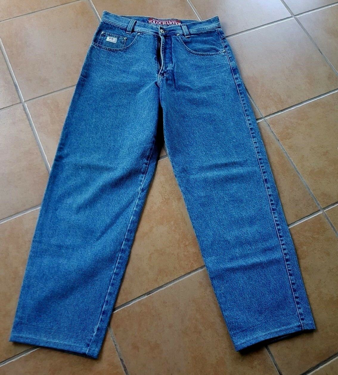 Pantaloni UOMO JEANS Volocharter tg. tg. tg. 33 blu e8aed7