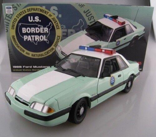 Ford Mustang U.S. Border Patrol limité à 528 unités GMP Acme 1 18 Nouveau