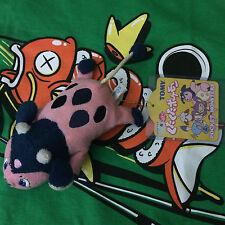 Miltank KutaKuta Pokemon Plush Tomy Japan Terrycloth Laying Bean Bag Poke Doll