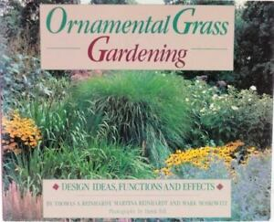 Ornamental grass gardening by mark moscowitz thomas a reinhardt stock photo ornamental grass gardening design ideas functions and effects workwithnaturefo