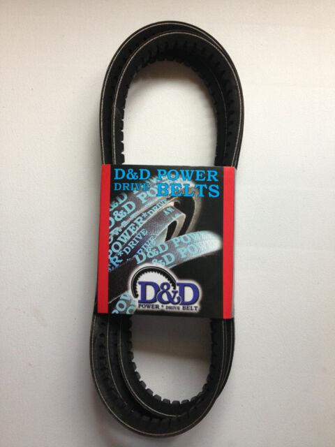 D/&D PowerDrive AX60 V Belt  1//2 x 62in  Vbelt
