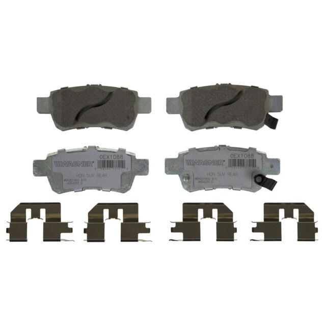 Disc Brake Pad Set-OEX Disc Brake Pad Rear Wagner fits 05-10 Honda Odyssey