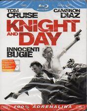 KNIGHT AND DAY - INNOCENTI BUGIE - BLU-RAY + DVD + DIG. COPY (NUOVO SIGILLATO)