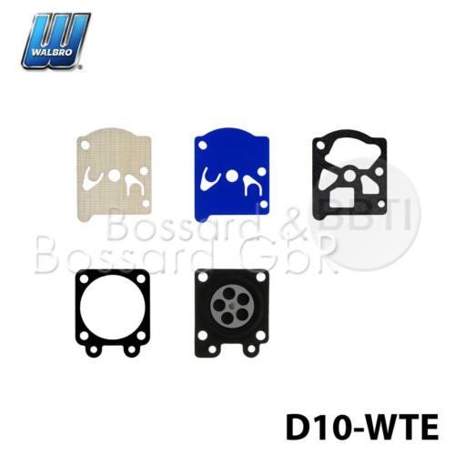 D10-WTE original Walbro Vergaser Membransatz für Stihl MS 240 260 311 362 391