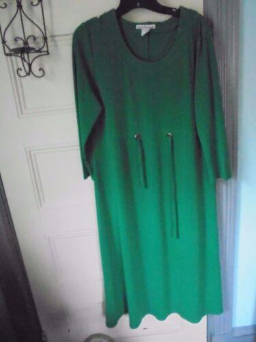 a9a4e4d8e43 SERENGETI SIZE L green DRESS Poly-Spandex New w o Tag -  25.22 ...